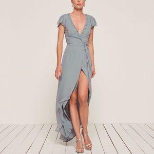 Dusty Blue Foxtrot Dress